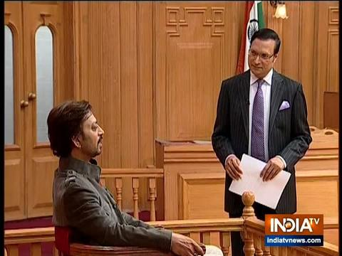 Irrfan Khan on Aap Ki Adalat: I am from Rs 1000 crore club