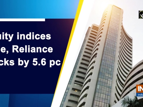 Equity indices slide, Reliance cracks by 5.6 pc