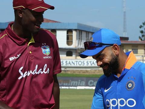त्रिनिदाद वनडे : विंडीज का टॉस जीतकर बल्लेबाजी का फैसला