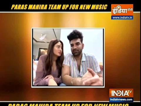 Bigg Boss 13's Paras Chhabra and Mahira Sharma reunite for new song Ring