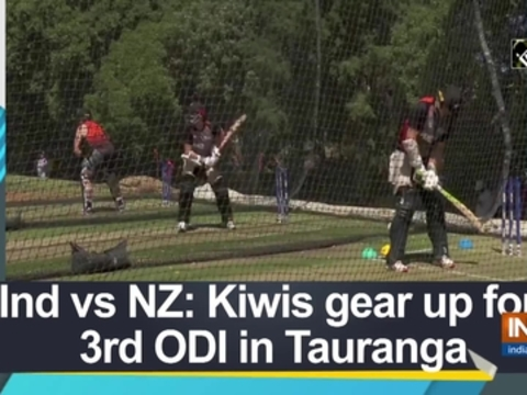 Ind vs NZ: Kiwis gear up for 3rd ODI in Tauranga