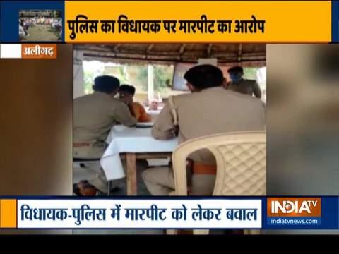 अलीगढ़ में बीजेपी विधायक ने लगाया थाने में पिटाई का आरोप, सीएम योगी ने दिए कार्रवाई के निर्देश