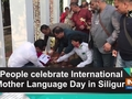 People celebrate International Mother Language Day in Siliguri
