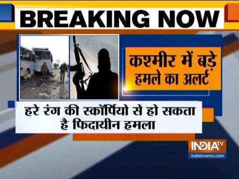 जम्मू-कश्मीर में जैश आतंकी हमले का अलर्ट
