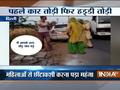 Delhi: Man beaten up by women on road for eve-teasing
