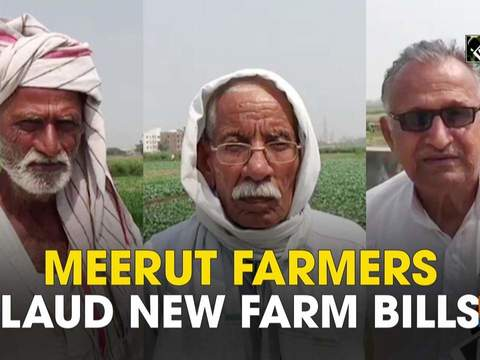 Meerut farmers laud new farm bills