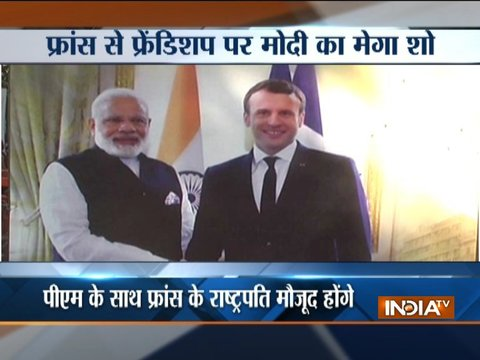 UP: PM Narendra Modi to host Macron in Varanasi today