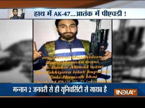 Has Kashmiri scholar Mannan Wani joined any terror group?