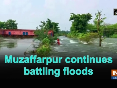 Muzaffarpur continues battling floods