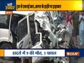 Agra accident: Truck-car collision in Agra, 8 killed, several injured