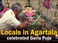 Locals in Agartala celebrated Garia Puja