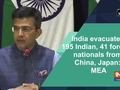 India evacuated 195 Indian, 41 foreign nationals from China, Japan: MEA