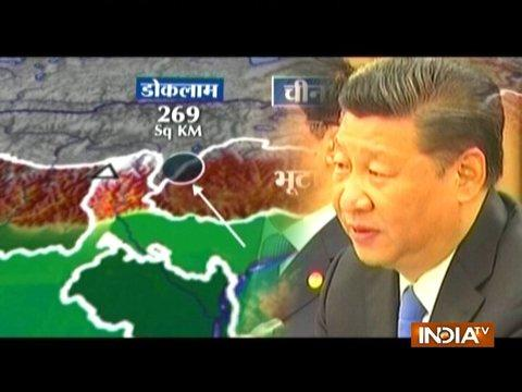 China deploys almost 1,000 PLA troops at Doklam standoff site