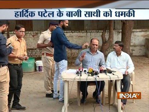 Gujarat polls 2017: Top Patidar leader Dinesh Bambhaniya quits Hardik Patel's PAAS