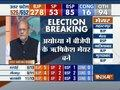 BJP leading in seats including Lucknow, Allahabad, Aligarh, Varanasi, Gorakhpur