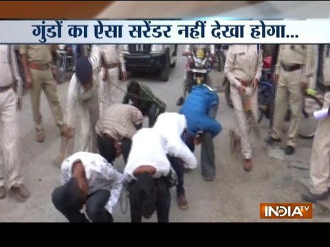 Moral policing: Cops made miscreants to do sit-ups in Madhya Pradesh