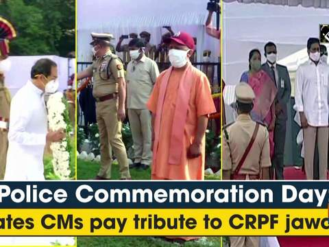 Police Commemoration Day: States CMs pay tribute to CRPF jawans