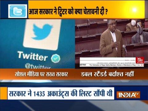 Social media platforms should follow Indian laws, says Ravi Shankar Prasad in Rajya Sabha
