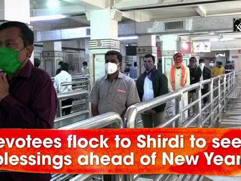 Devotees flock to Shirdi to seek blessings ahead of New Year
