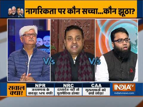 Kurukshetra: Controversy continues over NPR, NRC. Watch debate as war of words breaks out