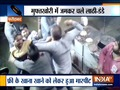 Faridabad: Goons beat the restaurant owner and staff for not giving free food