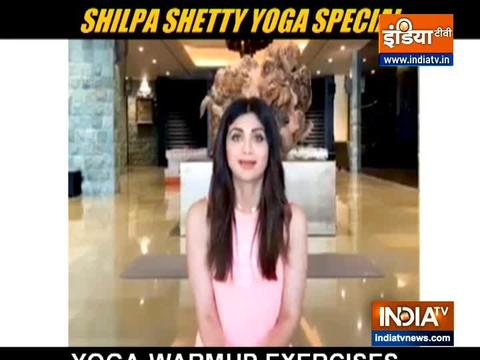 Shilpa Shetty shares the importance of yoga in the times of COVID-19