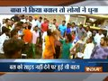 Drunken monk beaten up by mob in Haryana