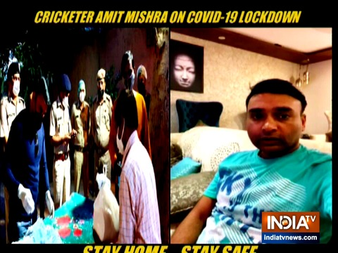 Exclusive: Cricketer Amit Mishra comes forward to serve the needy amid COVID-19 pandemic