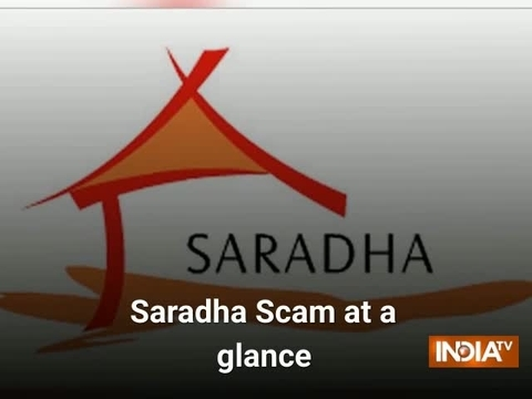What is Saradha scam?