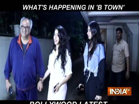 Bollywood Latest: अर्जुन रामपाल गर्लफ्रेंड के साथ आए नजर, जान्हवी और खुशी के साथ बोनी कपूर ने मनाया बर्थडे