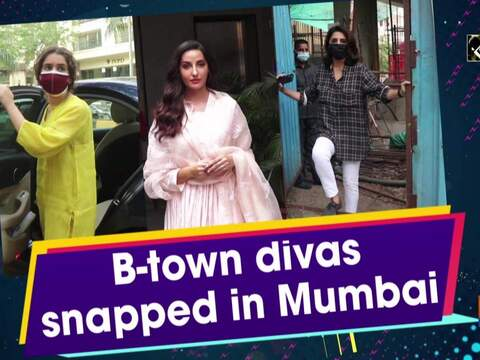B-town divas snapped in Mumbai