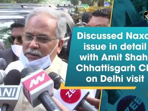 Discussed Naxal issue in detail with Amit Shah: Chhattisgarh CM on Delhi visit