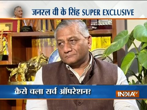 Exclusive: MoS for External Affairs Gen VK Singh on killing of 39 Indians in Mosul