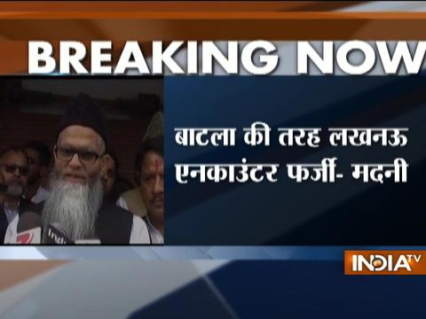 Maulana Aamir Rashadi Madani terms Lucknow encounter as fake