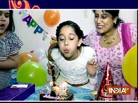 देशना उर्फ़ मरियम खान ने सास बहू और सस्पेंस की टीम के साथ मनाया अपना जन्मदिन