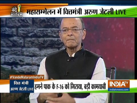 Arun Jaitley at Vande Mataram: Valour of our defence forces should never be an election issue