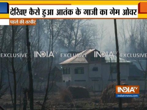 पुलवामा में आतंकियों से मुठभेड़ के बाद पत्थरबाजों ने सेना पर हमला किया