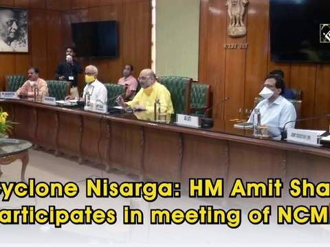 Cyclone Nisarga: HM Amit Shah participates in meeting of NCMC
