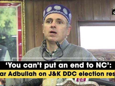 'You can't put an end to NC': Omar Adbullah on JK DDC election results
