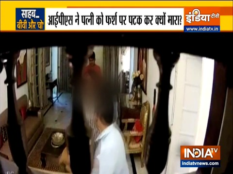 Senior IPS Officer brutally thrashes his wife after she catches him with another woman
