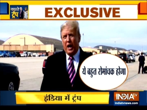 All you need to know about US President Donald Trump's 2-day visit to India