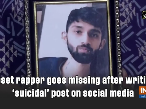 Upset rapper goes missing after writing 'suicidal' post on social media