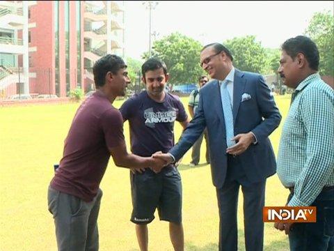 विजय हजारे ट्रॉफी से पहले डीडीसीए प्रसिडेंट रजत शर्मा ने दिल्ली के खिलाड़ियों का मनोबल बढ़ाया