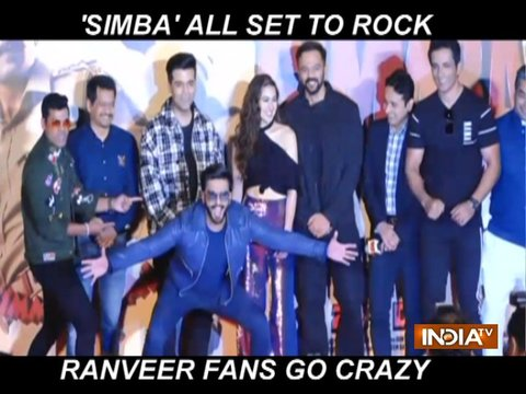 Ranveer Singh gets mobbed at Simmba trailer launch, answers questions about Deepika