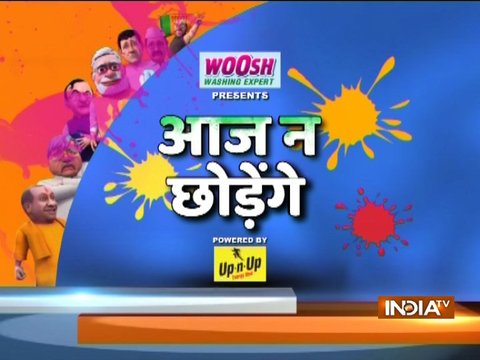 Watch IndiaTV special Holi show 'aaj na chhodenge' with Dr. Kumar Vishwas