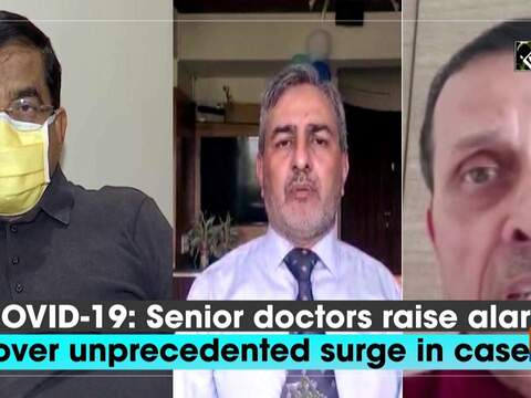 COVID-19: Senior doctors raise alarm over unprecedented surge in cases