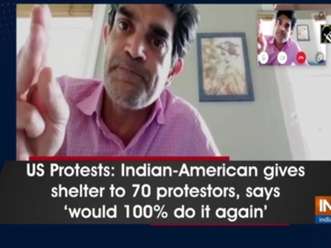 US Protests: Indian-American gives shelter to 70 protestors, says 'would 100 percent do it again'