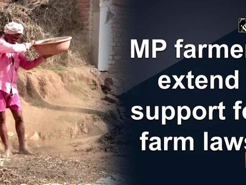 MP farmers extend support for farm laws