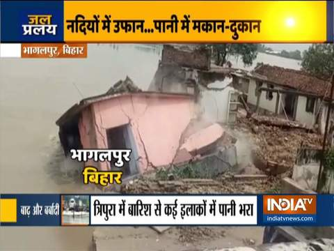 Heavy rain triggers landslide and flood-like situation in Himachal, Uttarakhand and other states