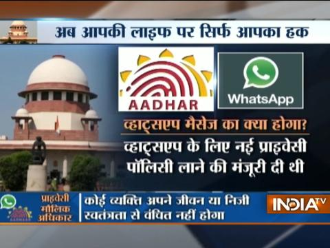 Right to Privacy: Govt welcomes SC judgment, says Ravi Shankar Prasad